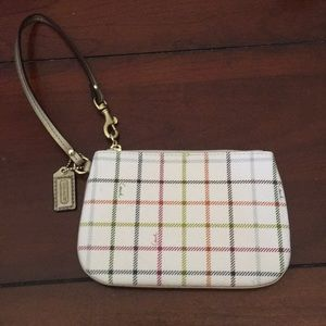 Coach Multi-Color Wristlet